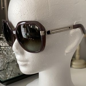 CHLOE CE662S Sunglasses 😎 Grey Lens Made In Italy